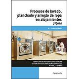 Procesos Lavado Planchado Y Arreglo De Ropa En Alojamientos