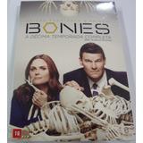 Box Original : Bones 10ª Temporada Completa Lacrado - 6 Dvds