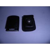 Zippo Original Con Su Porta Zippo De Cuero Original