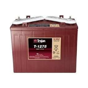 Bateria Trojan T1275 Para Carro De Golf Electrico