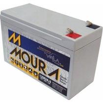 Bateria Moura Vrla - 12v 9ah P/ Nobreak, Alarme E Outros