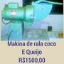 Máquina Profissional Multiusos Ralar Cocô Ou Queijo