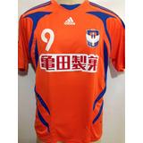 Albirex Niigata Japão # 9 Fukai adidas Patch Jogo J.league G