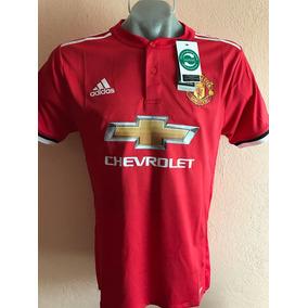 Jersey Playera Manchester United Local 2017-2018 Logo Premie