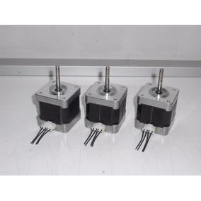 Kit 3 Motores A Pasos Nema 17,5kg-cm, Alta Velocidad, Cnc 3d