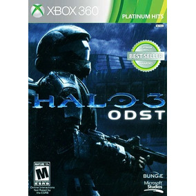 Halo 3 Odst Platinum Hits X360 Nuevo