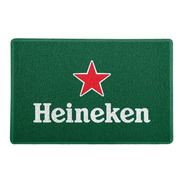 Tapete Capacho Personalizado Heineken