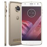 Celular Smartphone Motorola Moto Z2 Play 64gb Gold Xt1710-08