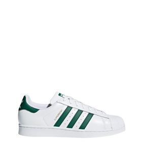 Zapatillas Superstar Hombres Verde- Originals
