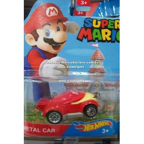 Carro Hot Wheell Mario Bross Luigi Koopa Toad Yoshi