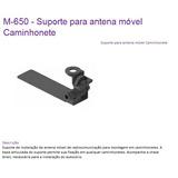 M-650 Suporte Para Antena Móvel Px Vhf Caminhonete Aquário