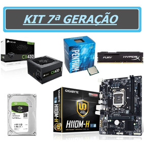 Kit - Pentium G4560 + H110m-h + 8gb + Hd 1tb+ Cx430 -testado