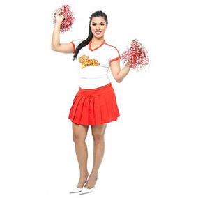 Fantasia Líder De Torcida Cheerleader Adulto Feminino