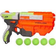 Lançador Nerf Vortex - Vigilon - Hasbro - Arma De Brinquedo