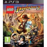 Izalo: Juego Físico Nuevo Indiana Jones 2 Ps3 + Mercaopago!!