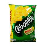 Kit 10 Salgadinhos Elma Chips Cebolitos 210g