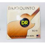Dr Cuerdas Bajo Quinto Bq-10 Nickel Acero Sexto Niquel