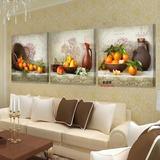 Pintura Al Óleo Bodegón Frutas 80x80-3pcs