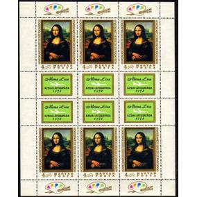 Col 12212 Hungria 2364 Mona Lisa Pinturas Da Vinci Nnn / Nn