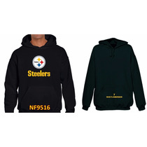 Sudadera Pitsburgh Steelers Tipo Nfl (personalizada) Nf9516