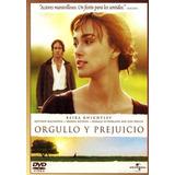 Orgullo Y Prejuicio (2005). Dvd