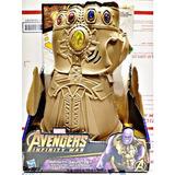 Guante Electronico Thanos Infinity War Puño Guantelete Nuevo