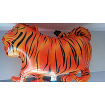 Globo Forma De Tigre Por 1 Unidad 65cm