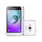 Smartphone Samsung J1 8gb Branco Dual Chip 3g - Câm. 5mp Tel