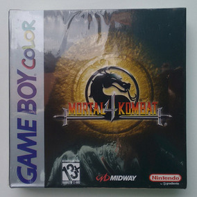 Jogo Mortal Kombat 4 Game Boy Color Lacrado