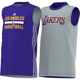Musculosa adidas Los Angeles Lakers Reversible Nba Basket