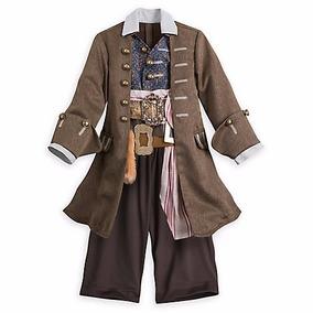 Disfraz Jack Sparrow Disney Store 4 Años Entrega Inmediata