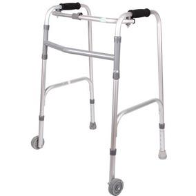 Andadera Ortopedica Económica De Aluminio Con Ruedas Envio G