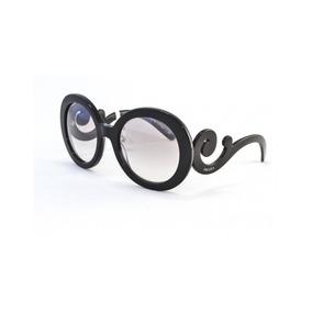 478bf0fb2632f Oculos Prada Baroque Black Original - Óculos no Mercado Livre Brasil