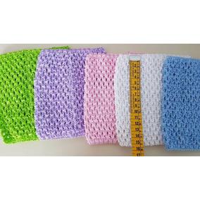 Cintillos Tejidos Cinta Crochet Para Vestidos De Tul 15cm