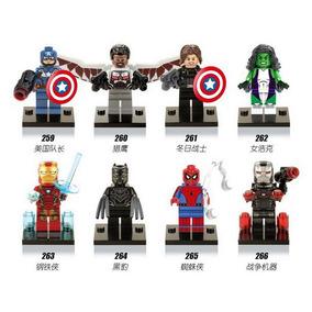 Minifiguras Marvel Dc Super Heroes Civil Warserie 2xx