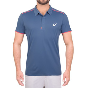 Camisa Polo Asics Tennis Gel Cool Performance - Original d2d34de94062b