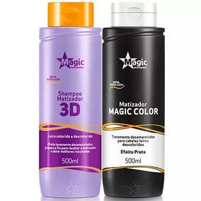 Shampoo Magic Color 500ml + Máscara Platinum Blond 500ml