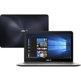 Notebook Asus X556ur-xx478t Core I5 8gb 1tb Azul Escuro