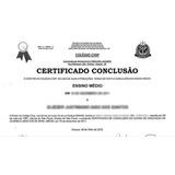 Supletivo - Certificado De Conclusao Do Ensino Médio