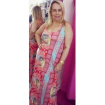 Vestido Maria Antônia - Estampa Azulejo - Evasê