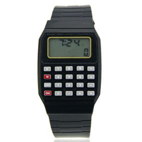 4ab45a6d05e Relógio Calculadora Com Joguinho Masculino Casio - Relógios De Pulso ...