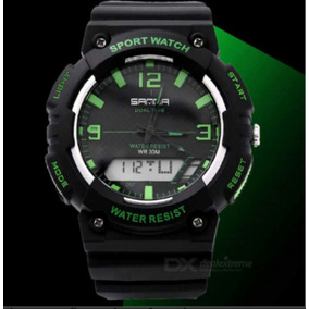 Relógio Sport Watch Alta Resistência Até 30mt Dbaixo Dagua