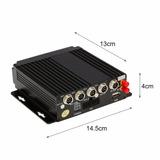 Dvr Movil 4 Camaras Hd 720p 3g/4g Micros Camiones Remises