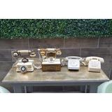 Lote Telefonos Antiguos Vintage Funcionando Retro Coleccion
