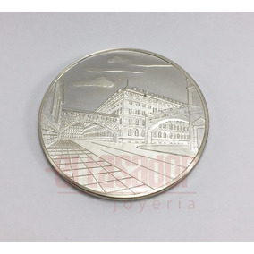 Medalla De Plata 925 Alemana Deutsche Bank Joyeriaeltasador
