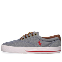 Tenis Polo Ralph Lauren Vaughn Chambray - 816176843kc1 - H