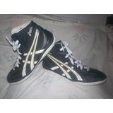 Zapatillas De Lucha Olimpica Asics Del 29 Mexicano Usado