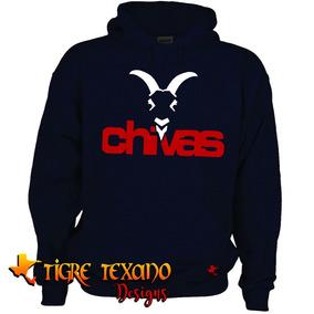 Sudadera Fútbol Socc Chivas Guadalajara Tigre Texano Designs