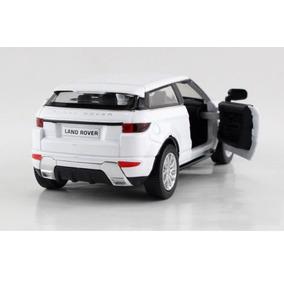Miniatura Land Rover Escala 1:36 Metal Só Tem Cor Vermelha