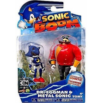 Sonic Boom Juguete Dr. Eggman Y Metal Sonic Cartoon Network